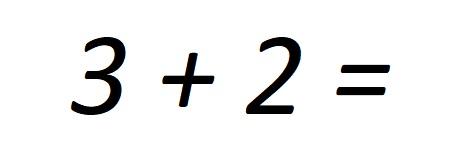 Die Antwort ist fünf
