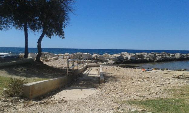 Strandbild Kroatien