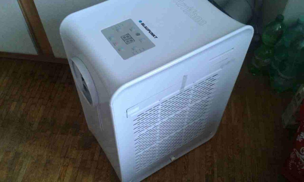 Das Foto zeigt eine mobile Klimaanlage.